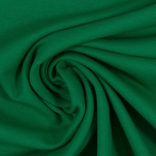 Feinstrickbündchen 000365 uni, grasgrün