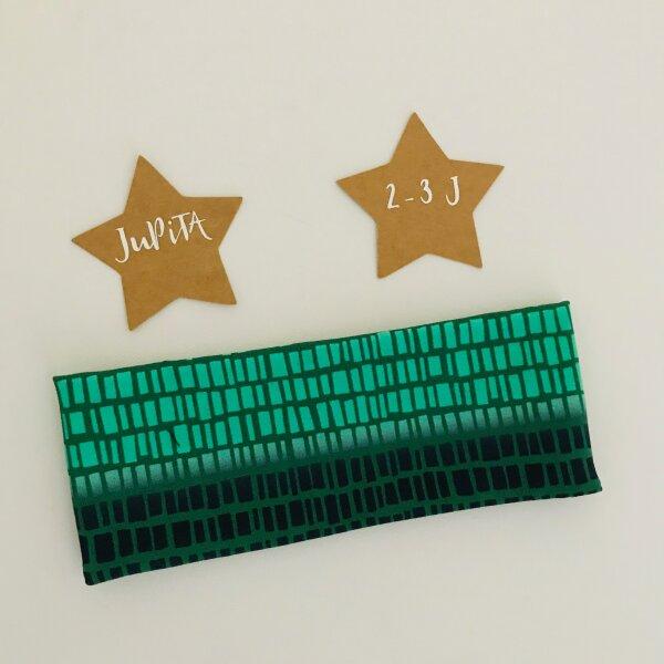Stirnband grün dunkelblau