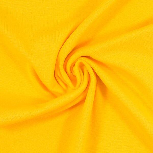 Feinstrickbündchen 000312 uni, gelb