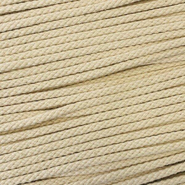 Flechtkordel 4mm beige