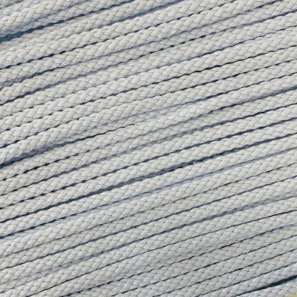 Flechtkordel 10mm hellblau