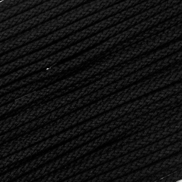 Flechtkordel 10mm schwarz
