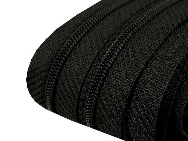 Reißverschluss 3mm schwarz