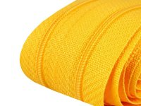 Reißverschluss 3mm gelb