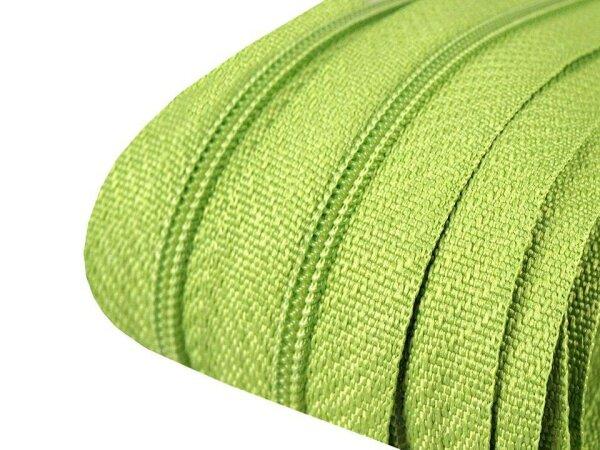 Reißverschluss 3mm hellgrün