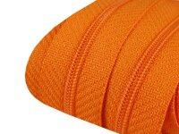 Reißverschluss 3mm orange