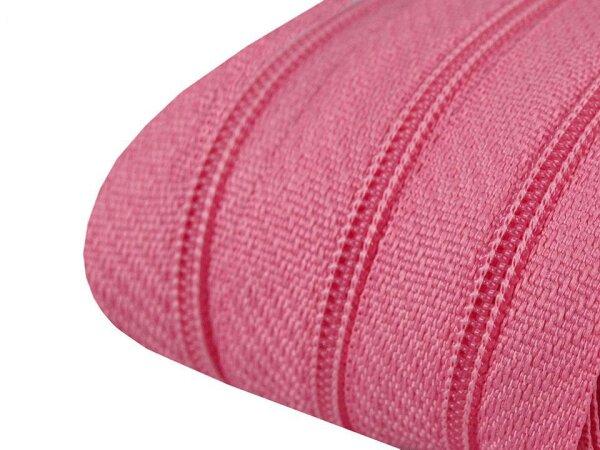 Reißverschluss 3mm pink