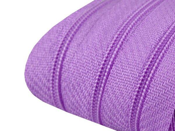 Reißverschluss 3mm violett