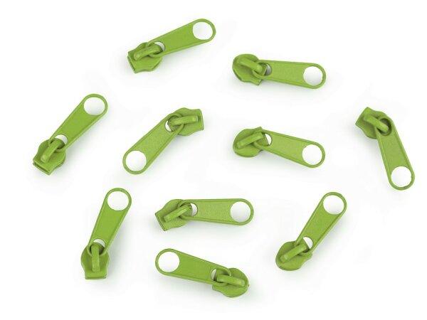 Schieber 3mm hellgrün