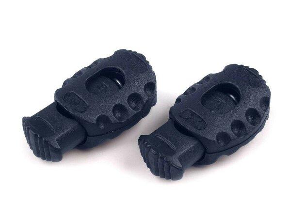 Kordelstopper 20x30mm schwarz
