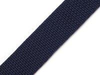 Gurtband 25mm dunkelblau