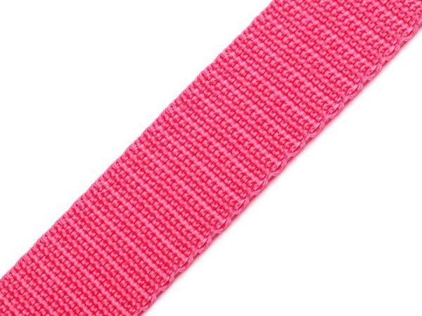 Gurtband 25mm rosa
