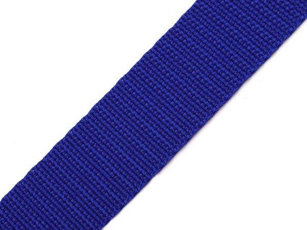 Gurtband 25mm royalblau