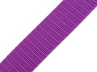 Gurtband 25mm lila