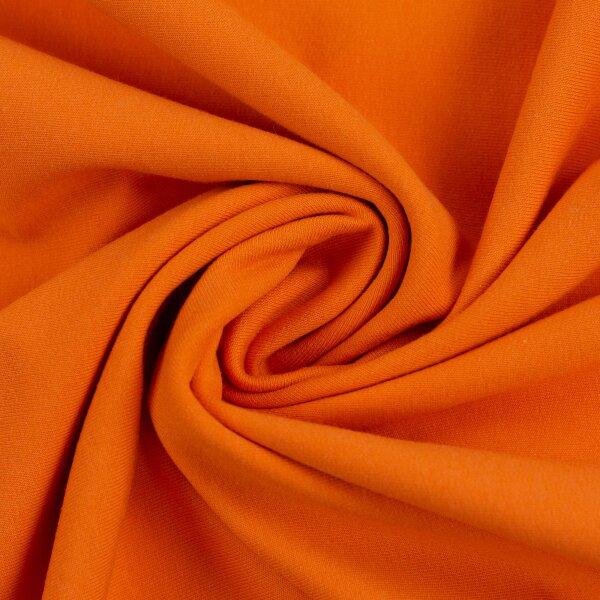 French Terry 000424 uni, orange