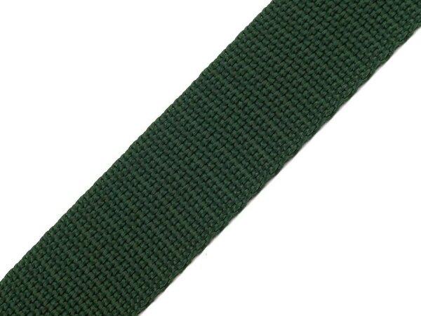 Gurtband 30mm dunkelgrün