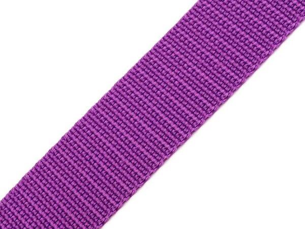Gurtband 30mm lila