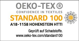 OEKO-TEX Standard 100 Zertifikat